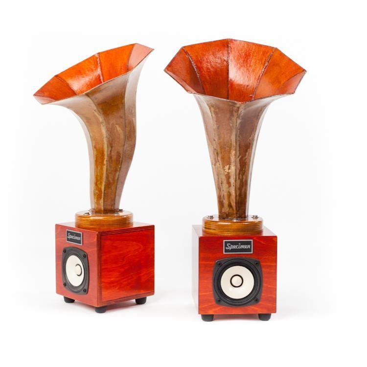 Specimen Custom Hornlet Audio Speakers