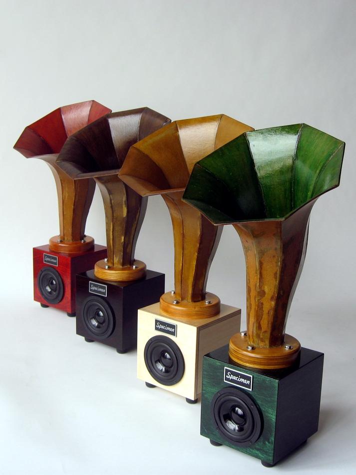 Specimen Hornlet Desktop Audio Horn Speaker