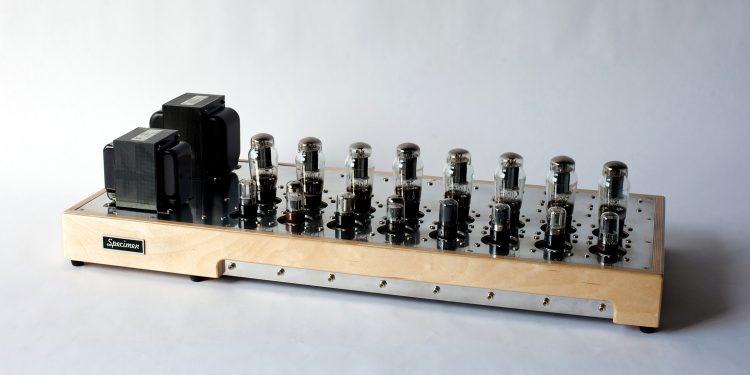 Specimen Custom Single-ended Octoblock Stereo Tube Amplifier