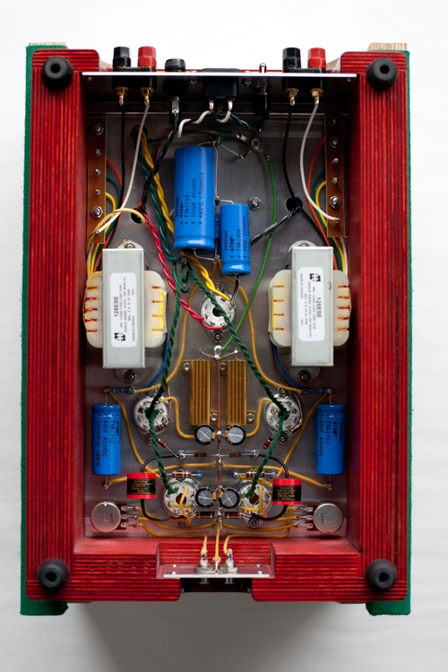 Specimen Custom Single-ended Hi-Fi Stereo Tube Amplifier