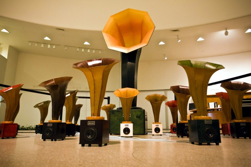 Andrew Bird and Ian Schneller's Sonic Arboretum at the Guggenheim Museum, NYC 2010