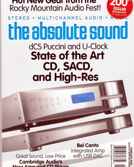 The Absolute Sound Magazine features Specimen Little Horn Speakers
