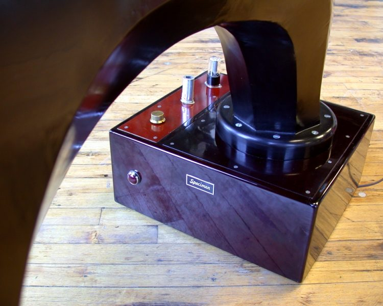 Specimen Custom Horn Speaker and built-in Tube Amplifier
