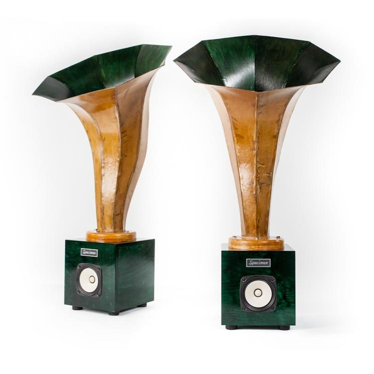 Specimen Liderhorn Audio Speakers