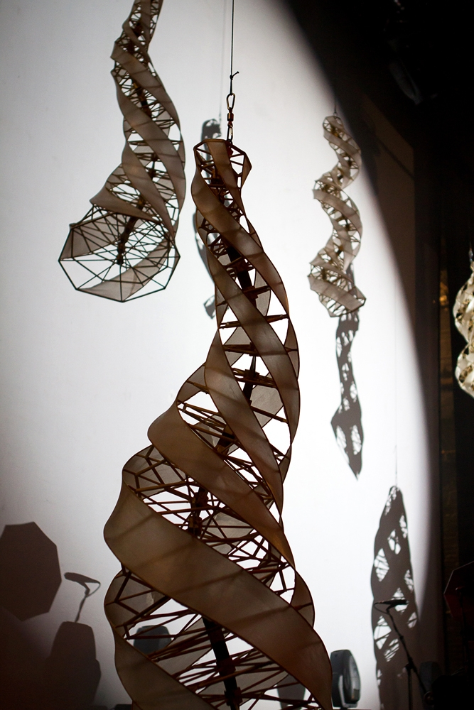 Specimen Aerosel Horn Sculpture at Chicago's Auditorium Theater