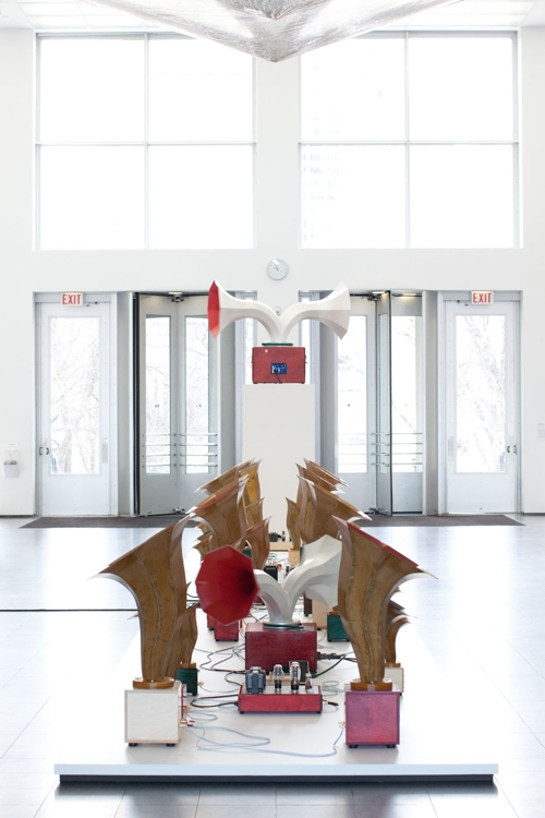 Sonic Arboretum Exhibit at Chicago's Museum of Contemporary Art