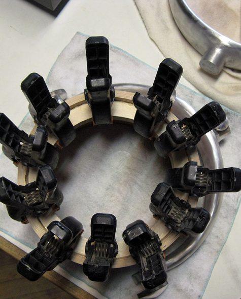 Specimen Ceiling Mounted Audio Horn Speaker: The Gimbal Horn