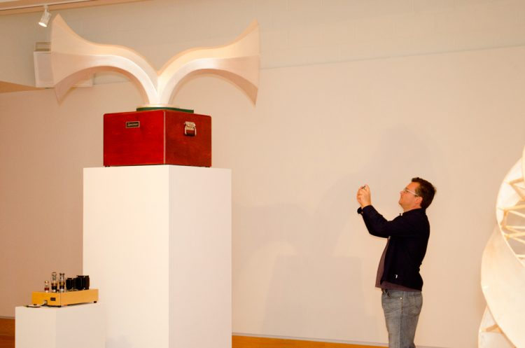 Ian Schneller exhibit at Elgin Arts Center