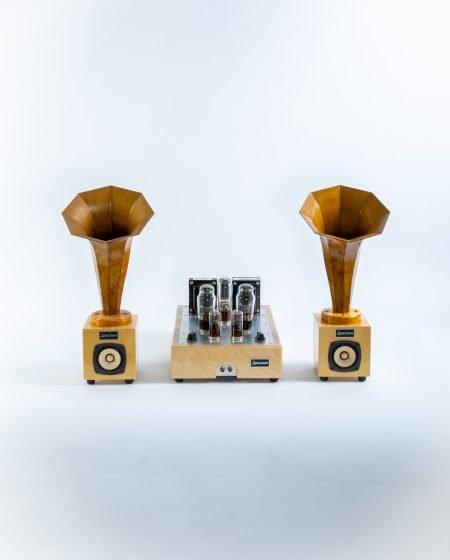 Hornlets Speakers Natural 576-577